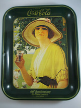 Coca-Cola Vintage Tin Tray 1980 60th Anniversary in Vancouver 1920-1980 - $12.38