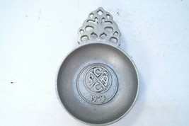 "Pewter Wilton Armetale RWP #129 S.A.C.C. 1974 Ash Tray 4.5"" Golf Country... - $23.13"