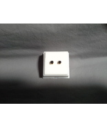 Black Diamond Studs, 4mm Round, .5 TCW, 14ky - $149.00