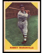 VINTAGE MLB 1960 Fleer #21 Rabbit Maranville DP EX++ Excellent++ - $5.50