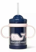Vineyard Vines for Target 9oz Sippy Cup Pink Whale - Navy - Exclusive - ... - $13.98