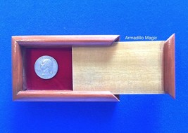 Rattle Box Magic Trick - Stage - Closeup - Wooden - $14.95