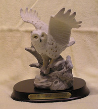 Vintage Wellington Collection Art Owl and Platform (1995) - $18.00