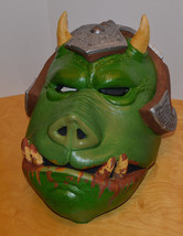 VINTAGE STAR WARS GAMORREAN GUARD LATEX MASK HALLOWEEN COSPLAY COLLECTIBLE - £74.79 GBP