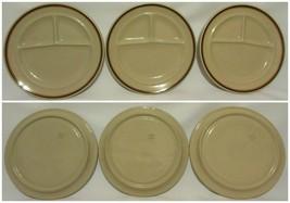 TEPCO China USA Section Divided Dinner Plates Restaurant Ware Vintage Se... - $59.37