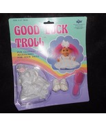 Russ Good Luck Troll Wedding Bride Dress Outfit Unused Sealed Complete C... - $12.74