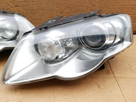 06-10 Volkswagen Passat Afs HID Xenon Headlight Head Lights Lamps Set L&R image 2