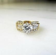 Vintage 18K 2.60tcw Diamond Solitaire Wedding Engagement Ring ETC3377 - $8,242.18