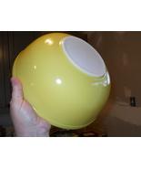 Pyrex Yellow Primary Mixing Bowl 4 QT 404 USA VTG - $16.99