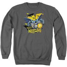 Batman - Bats Welcome Adult Crewneck Sweatshirt Officially Licensed Apparel - $29.99+