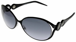 Roberto Cavalli Sunglasses Women Black Gray Oval RC588S6 05B Fashion - $187.11