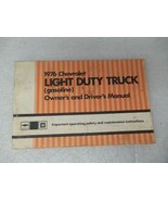 Chevy Pickup TCHEV10   1976 Owners Manual 17375 - $17.77
