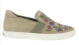 Womens Rockport Cobb Hill Flower Embroidered Slip-On Sneaker Size 7 [CH0... - $94.99