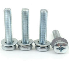 4 New INSIGNIA TV Base Stand Screws For Model  NS-55DR710NA17 - $6.62