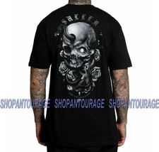 Sullen Niclas Serpent SCM2974 Short Sleeve Graphic Tattoo Skull T-shirt ... - $25.65+