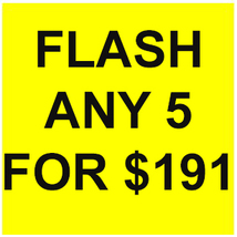 WED-THURS PICK ANY 5 FOR $191 DEAL BEST OFFERS DISCOUNT MAGICK  - $76.40