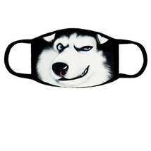 Cute Fashion Ski Winter Mask Anti Dust Face Mouth Warm Masks, Husky - $12.40