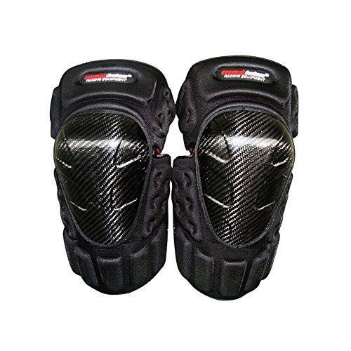 Carbon fiber Knee/Shin Guard Set for Racing Motocross Motocycle