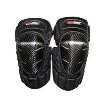 PANDA SUPERSTORE Carbon Fiber Knee/Shin Guard Set for Racing Motocross Motocycle