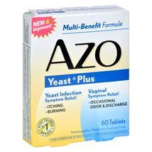 Azo Yeast Plus - 60 Tablets - $17.97