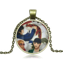 Friendly Anime Characters Cabochon Necklace >We Combine Shipping< (252 - $3.71