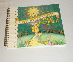 MARY ENGLBRIET'S LIVE IN THE LIGHT 2003 DESK CALENDAR - $6.99