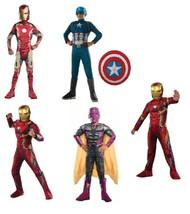 Marvel Ironman Age Ultron Civil War Captain America Vision Muscle Costume-M 8/10 - $14.85+
