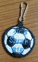 008 - Personalized Soccerball Charm - $5.00