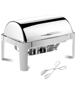9 Quart Stainless Steel Roll Top Chafing Dish - $172.50