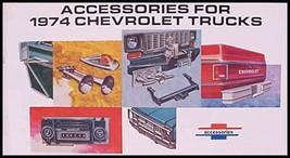 1974 Chevrolet Truck Accessories Accessory Brochure - $4.95