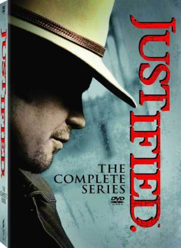 Justified The Complete Series [DVD Set]  TV Show Seasons 1 2 3 4 5 6