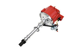 CHEVY GMC 4.3L V-6 HEI020R HEI Distributor with Red Cover Super Cap image 5