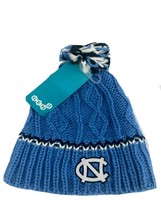 Outerstuff NCAA Teen-Girls Cable Knit Hat UNC Chapel Hill Tar-Heals One Size New - $9.94