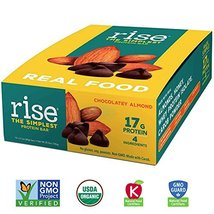 Rise Bar Non-GMO, Gluten Free, Soy Free, Real Whole Food, Whey Protein Bar 17g,  image 12