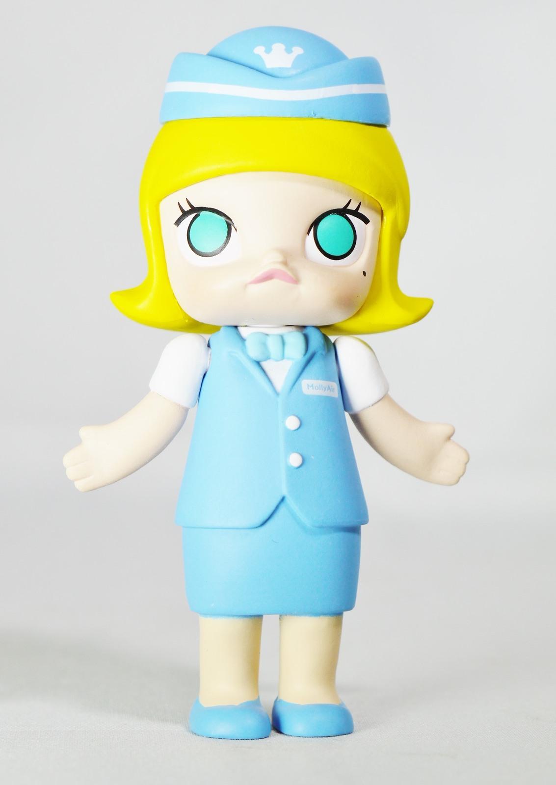 Kennyswork pop mart molly career stewardess blue   01