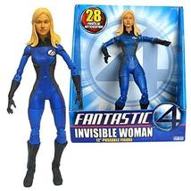 Marvel Year 2005 Fantastic Four Movie Series 12 Inch Tall Poseable Figure - Sue  - $64.99