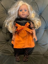 """Kingstate The Dollcrafter 18"""" Doll Blonde Hair Blue Eyes - $44.55"""
