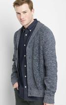 Men's GAP L/S Shaker Stitch Shawl-Collar Button Cardigan Sweater Sz Medium - $16.82