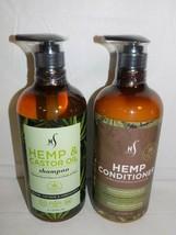 Herstyler Hemp & Castor Oil Hydration Shampoo & Conditioner Set 33.8 Oz  ea - $34.60