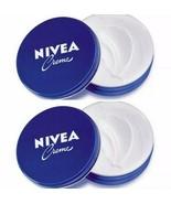 2 Can of 150 mL/ 5 Oz NIVEA CREAM Original Hand CREME moisturizer Metal ... - $12.82