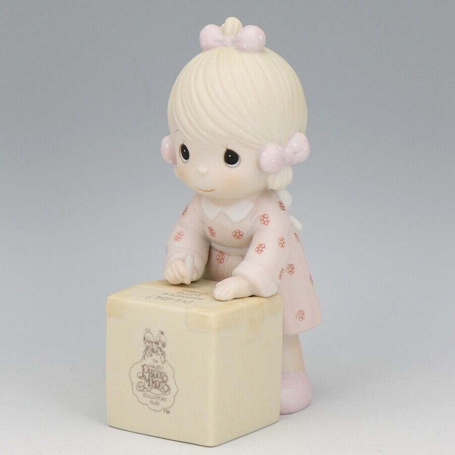 1987 Precious Moments Sharing is Caring Forever Friend Figurine