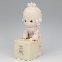 1987 Precious Moments Sharing is Caring Forever Friend Figurine image 1