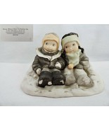 Enesco Pretty as a Picture Kim Anderson Snow Where Else I'd Rather Be Figurine - $19.99