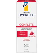 Garnier Ombrelle Complete 45 SPF Lightweight Sunscreen Lotion 2 x 200ml Canada  - $69.99