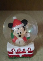 2010 Disney JC Penny Collectible Mickey Mouse Santa Clause Christmas Sno... - $5.93