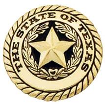 U-1'' Hilason Western Tack Tackxas Seal Concho Round Shape Brass Plated ... - $8.86+