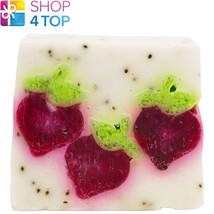 Berry Bar Soap Bomb Cosmetics Strawberry Rosewood Magnolia Handmade Natural New - $4.94