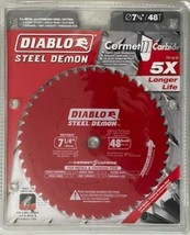 "Freud Diablo DO748CFX Diablo Steel Demon 7 1/4 "" 48-Tooth SAW BLADE Italy - $29.70"