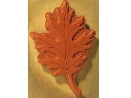 Vintage PSX Leaf Rubber Stamp #F-1143 image 2