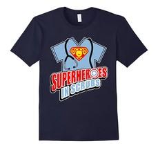 Cool Nurse Superheroes in Scrubs T-shirt for Nurses Men - $17.95+